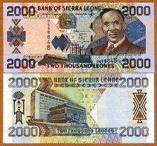 Sierra Leone / Africa, 2000 Leones, 2002, P-26 (26a), UNC