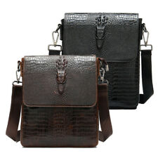 Genuine Leather Business Shoulder Bag for Men Hiking Crossbody Bag Satchel TOTE