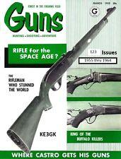 Guns Magazine * 1955 thru 1964 * 123 Issues on DVD * PDF Format