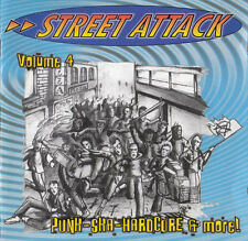 Street Attack vol.4 punk ska hardcore Sampler CD (2003 noisegate) NUOVO!