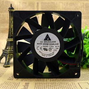 1pc Delta PFB1224UHE 12CM 12038 24V 2.40A Gale Volume Inverter Cooling Fan