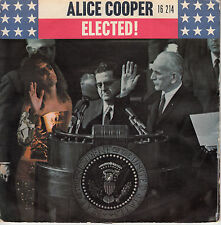 """7"""" 45 TOURS FRANCE ALICE COOPER """"Elected / Luney Tune"""" 1972"""
