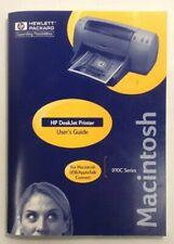 HP DeskJet Printer 970C Series Macintosh User Guide OEM
