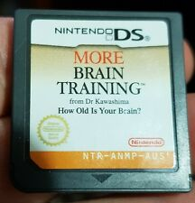 More Brain Training (cartridge only) NDS - FREE POST *