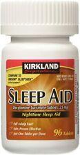 Kirkland Signature Sleep Aid Doxylamine Succinate 96 tablets.