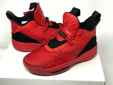 Nike Air Jordan XXXIII Retro 33 GS Youth Sz 6Y Red Basketball Shoes AQ9244 600