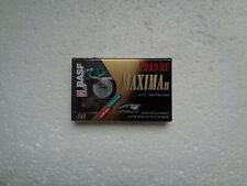 Vintage Audio Cassette BASF Chrome Maxima II 60 * Rare From 1993 * Slim-Box