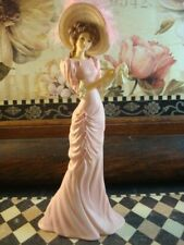 Thomas Kinkade Victorian Figurine Pink With Hope Inspirations Collection 2007