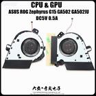 13NR03V0T020011 FOR ASUS ROG Zephyrus G15 GA502 GA502IU CPU & GPU COOLING FAN