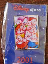 Disney seven dwarfs tac pin, 2001