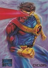 1995 Fleer Marvel Masterpieces Trading Card #23 Cyclops