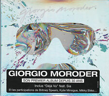 CD GIORGIO MORODER DEJA VU 12T + 4T BONUS DUO MINOGUE/SPEARS/SIA NEUF FRENCH STI