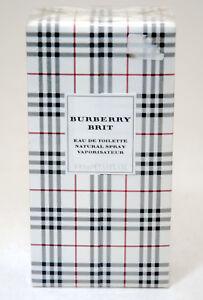 BURBERRY BRIT EAU DE TOILETTE 100 ML SPRAY 2003 EDITION