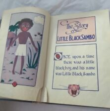 Little Black Sambo Enlarged Picture Edition Helen Bannerman Book 1939
