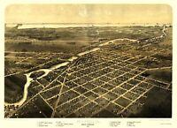 Monroe Michigan - Ruger 1866 - 23.00 x 31.68