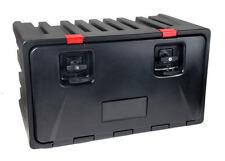 LKW Staukasten Werkzeugkasten aus Kunststoff 800x450x470mm Black Dog Lago 160380