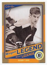 2012-13 O-Pee-Chee BOBBY ORR Gold Marquee Legends #G1 Rare SP HOF OPC High BV