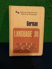 Language 30 German Cassettes