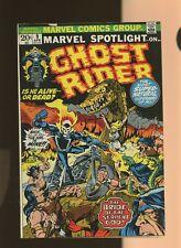 Marvel Spotlight 9 FN 5.5 * 1 Book * Ghost Rider! Gary Friedrich & Tom Sutton!