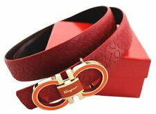 Ferragamo Belt Adjustable Buckle Cut Size Custom Fit Men Adults Accessories New