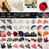 Women Girls Large/Small Crystal Plastic Hair Claw Hair Clip Clips Comb Hairclip