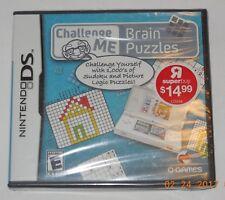 Challenge Me: Brain Puzzles (Nintendo DS, 2009)