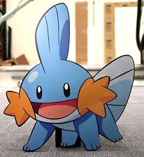 Limited Edition Pokemon GO Mudkip Metal Laser Cut and Print