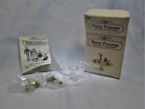 NEW Petite Princess Vintage Miniature Dollhouse Furniture Salon Coffee Table Set