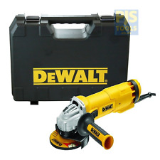 Dewalt DWE4206K 115mm 4.1/2in 240v 1010w angle grinder with carry case