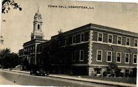 Vintage Postcard - Town Hall Building Hempstead Long Island New York NY #2940