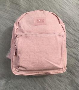 Victoria's Secret Mini Backpack Rucksack - Light pink - NEW - UK SELLER 💕