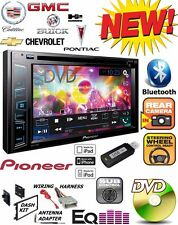 GMC SIERRA SAVANA PIONEER Cd Dvd USB Bluetooth Radio Stereo Double Din Dash Kit