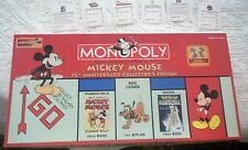 Mickey Mouse Monopoly 75th Anniversary Collector's Edition Complete 2004