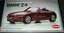 KYOSHO SOFT TOP CONVERTIBLE RED BMW Z4 Scale1:12,  08604R VERY RARE NIB