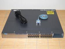 Cisco Catalyst WS-C3750X-24T-E Stackable 24x Port GIGABIT Switch