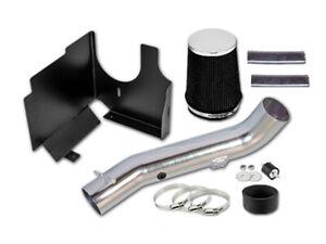 "GSP 3.5"" Black Heat Shield Cold Air Intake Filter 01-03 Silverado GMC Sierra"