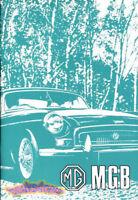 MGB 1973 1974 OWNERS MANUAL MG BOOK DRIVERS GUIDE HANDBOOK GT MGBGT ROADSTER B