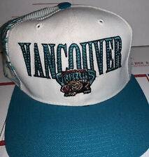 Vancouver Grizzlies Sports Specialties Laser Shadow Vintage 90s Snapback Cap Hat