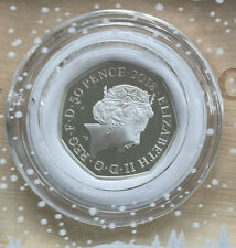 More details for 2018 snowman silver proof 50p