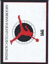 AIR JORDAN FLIGHT CLUB CALENDER 1991