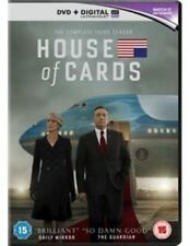 House of Cards Season 3 Series Three Third DVD UV Digital Region 4