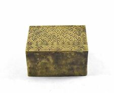 Old Rare Beautiful Design Hand Crafted Brass Rangoli Making Dye. G46-140