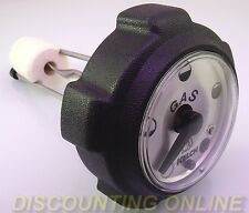 """FITS SEARS CRAFTSMAN FUEL TANK CAP WITH GAUGE 5-1/4"""" TANK 24064 024064MA -IN USA"""