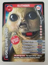 Doctor Who Monster Invasion Ultra Rare Card 055 Slitheen
