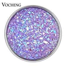 20PCS/Lot Vocheng Snap Charms Resin Button 18mm Copper Metal Vn-1613*20
