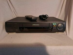 Panasonic NV HD 640 VHS 6 Kopf Hifi Stereo Videorecorder mit Fernbedienung !