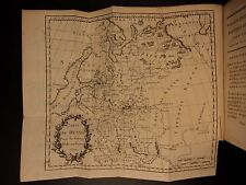 1794 1st edition Voyages to RUSSIA Chantreau MAP Russian Wars Czars Catherine