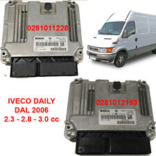 CENTRALINA MOTORE BOSCH 0281011228 0281012193 IVECO DAILY 2.3 2.8 3.0
