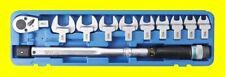 BGS 958 Satz Drehmmentschlüssel 40-210Nm mit Einsteckwerkzeug 13-30mm 14x18mm