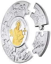 Liberia Apostel Johannes Paul 2011 5 oz 999 Silber Puzzlemünze Silbermünzen 30$